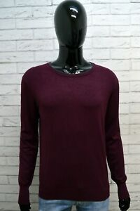 Maglia-Maglione-Uomo-GAUDI-Pullover-Taglia-Size-L-Viscosa-Sweater-Man-Slim-Fit