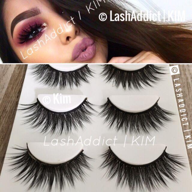 3 Glams Mink Lashes 3d Eyelashes Fur Makeup Eyelash Extension Us