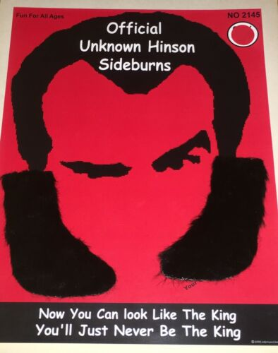 UNKNOWN HINSON Official SideBurns Kit NEW