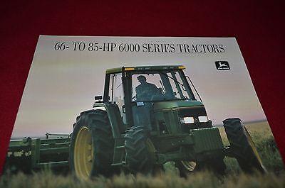 John Deere 6200 6300 6400 Tractor Dealer/'s Brochure AMIL8