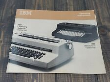 Ibm Correcting Selectric Ii Electronic Typewriter Manual Operating Instructions