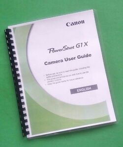 Canon G1x Manual Pdf