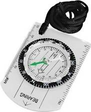 Mini Baseplate Compass Map Scale Ruler Outdoor Camping Hiking Cycling Scouts Mil