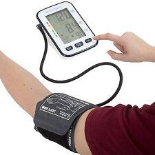 Push Button Automatic Upper Arm Blood Pressure Cuff Monitor in Case