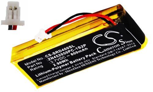 Batterie Li-Polymer 800mAh type ZN452050PC-1S2P Pour SCHUBERTH C3
