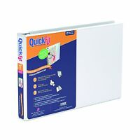 Quickfit 1 Inch Spreadsheet View Binder 8.5 X 11 Landscape R... Free Shipping