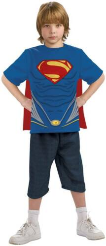 Superman T-Shirt for Boys (all sizes) w/Cape New by Rubies 88689