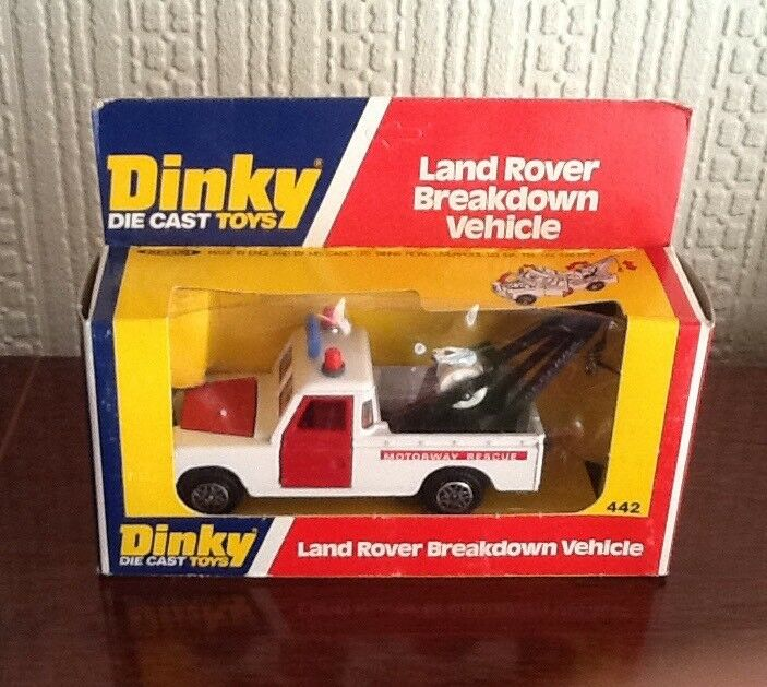 Dinky Diecast Toys 442 Land Rover Breakdown Vehicle