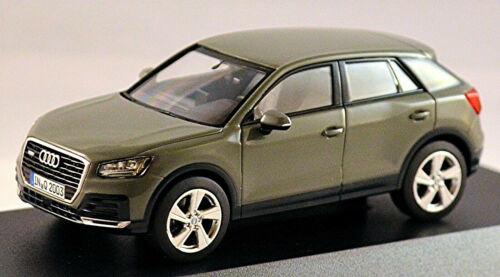 Audi Q2 SUV Typ GA 2016-20 Quantumgrau Quantum Grey 1:43 I-Scale