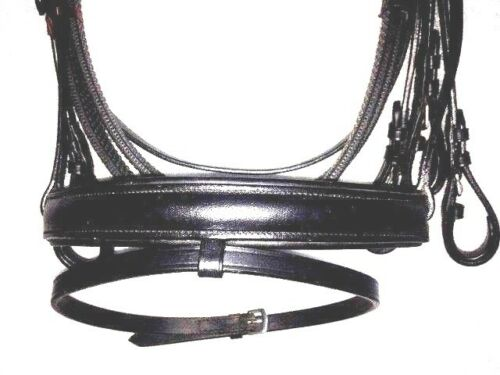 New Branded Leather English Bridle with Rubber Rains Pony Size Free Shipping