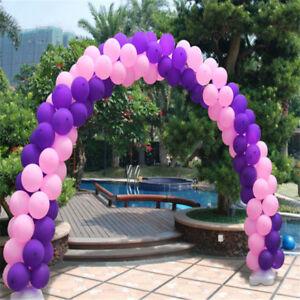Balloon Arch Kit Birthday Party Wedding Large Set Column Frame Arco