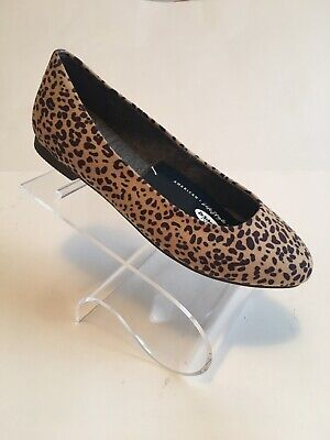 NWOB Dr Scholls Leopard Print Flats
