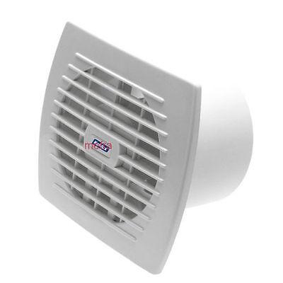 Aspiratore da muro elettrico 17W ventola per fumo aspira odori bagno cucina