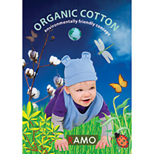 Organic Kids Bib - 100% ORGANIC Cotton Soft Comfortable Bib