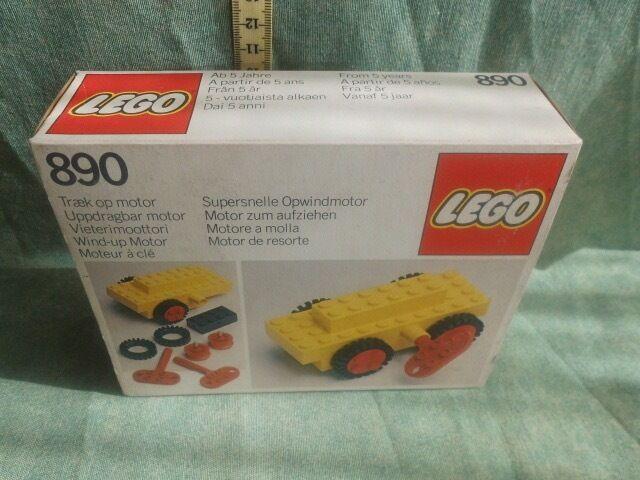 LEGO  890     VINTAGE giocattoli  1981  spedizione gratuita in tutto il mondo