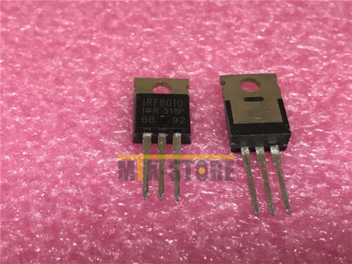 1PCS IRF8010 IRF8010PBF MOSFET N-CH 100V 80A 3-Pin 3+Tab TO-220AB Tube