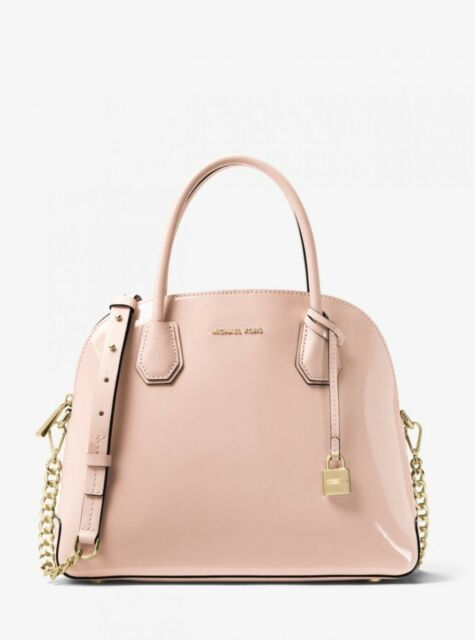 ff8898f2821e Michael Kors Mercer Ballet Leather Satchel Tote Shoulder Bag Handbag ...