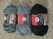 Loops Threads Ginormous 7 Charcoal Skein Yarn 14 Oz 84 Yards Lot