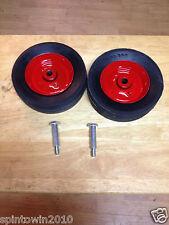 2 HD Steel Deck Wheels Toro Wheel Horse 5305 110506 6x1.75 with 2 Bolts 5188