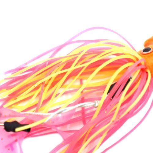 10pcs 7oz 200g Fishing Weight Octopus Head Jig Jigging Lingcod Random Color New