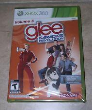 Karaoke Revolution Glee Volume 3 XBOX 360 new and factory sealed vol