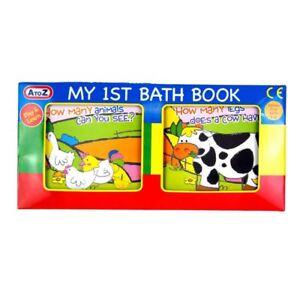 BABY-Toddler-MOBILE-My-1st-Primo-Libro-Bagno-Bathtime-GIOCO-DIVERTENTE-GIOCATTOLO-EDUCATIVO