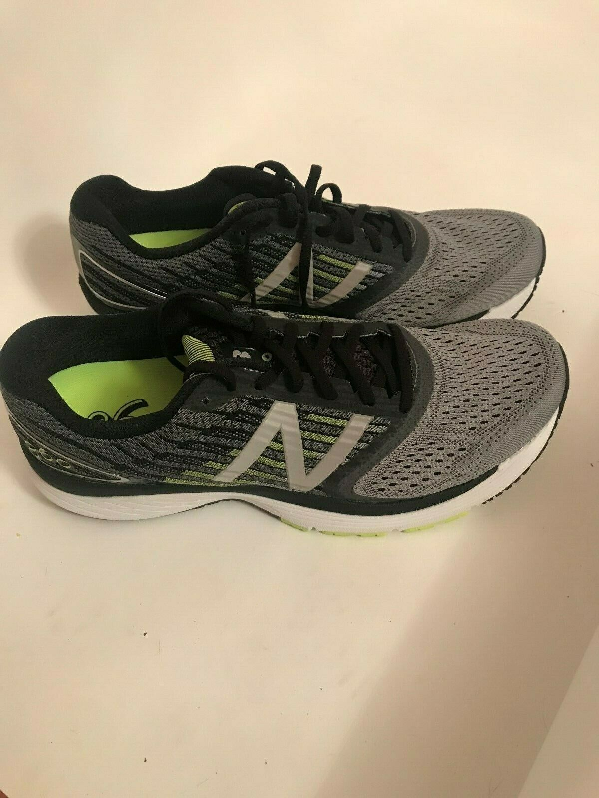 NEW BALANCE 860 v9 M860GY9, Men Sizes 9.5 11 11.5 12.5 14 Wide (2E) GreyHiLite!