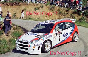 Colin McRae Ford Focus WRC Tour De Corse Rally 1999 Photograph | eBay