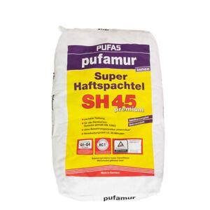 (2,04€/ Kg)Pufas Pufamur Super Haftspachtel SH45 10 kg kunstharzvergütet, Q1-Q4