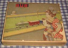 Vintage BUB Windup Tram,Model Train Set,U.S. Zone,Germany,Track,Tin Plate, Rare