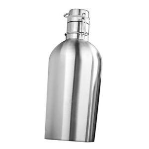 Schwingen-Top-Trinkflasche-Edelstahl-Wasserflasche-Silber-2L