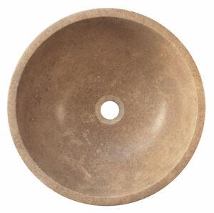 16-034-Walnut-Travertine-Stone-Countertop-Vessel-Sink-For-Powder-Room-Bathroom