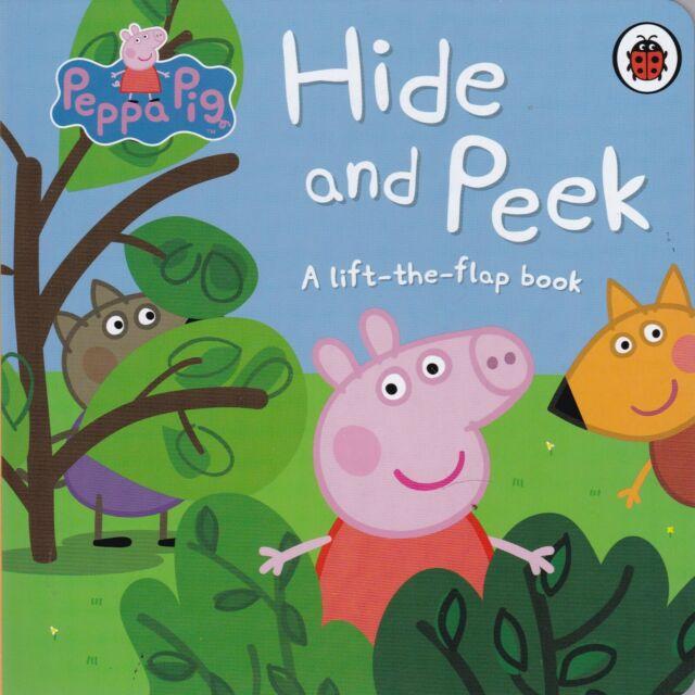 Peppa Pig: Hide and Peek: A Lift-the-Flap Board Book