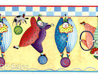 Here Come The Clowns Dana Simpson Bumble Tumble Roll Wallies Wallpaper Borders