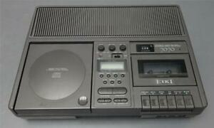 Eiki 7070 7070A Stereo CD Cassette Player Recorder Variable Pitch Compact