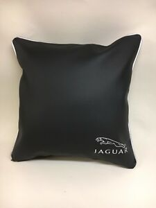 Faux-Leather-Jaguar-17-Cushion-Cover-With-Fibre-Filled-Inner-Brand-New