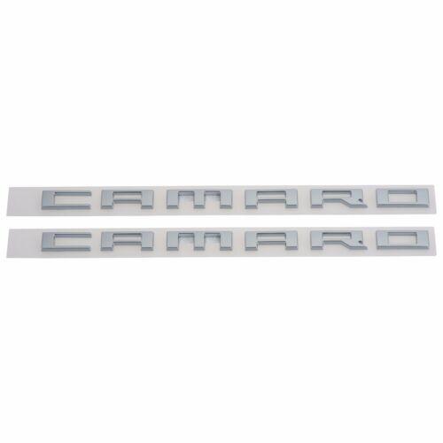 OEM NEW Right and Left Front Fender Camaro Emblem Set 10-15 Chevrolet 22752666