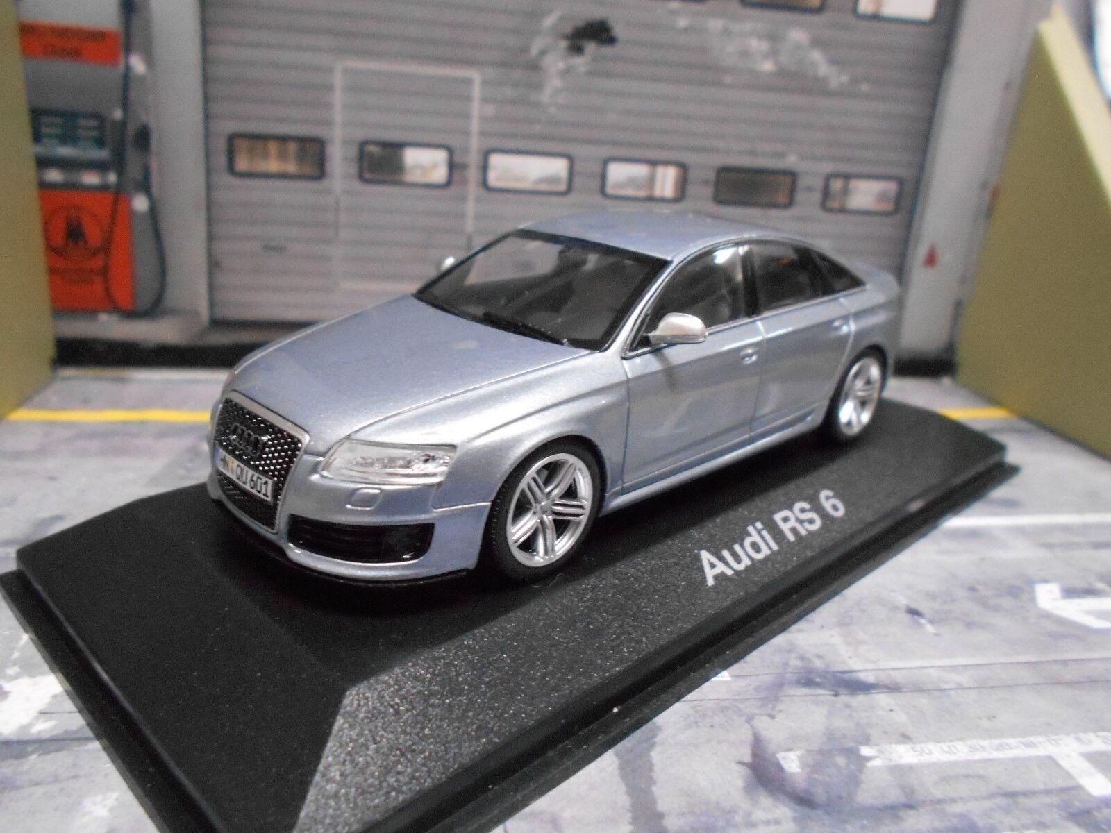 Audi Audi Audi a6 rs6 RS 6 sedán Quattro MKII 2008 - 2010 silb Minichamps traficantes 1 43 955ab3