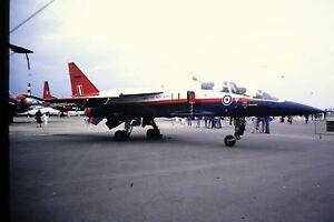 2-214-SEPECAT-Jaguar-GR1-EP-6-Sqn-Empire-Test-Pilots-School-Kodachrome-SLIDE