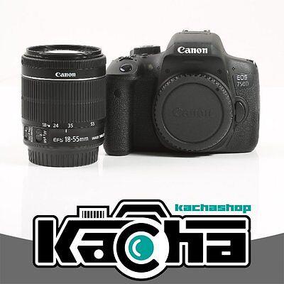 Canon EOS 750D Cámaras digitales + EF-S 18-55mm f/3.5-5.6 IS STM Lentes