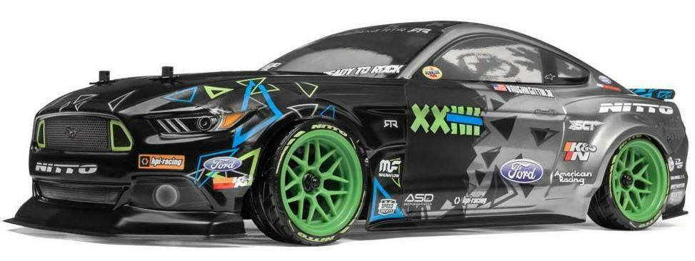 HPI RACING - RS4 SPORT 3, VAUGHN GITTEN JR, FORD MUSTANG, 1 10 SCALE HPI115984