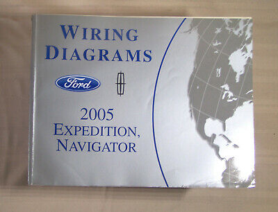 2005 Ford Expedition Lincoln Navigator Wiring Diagram Oem Factory Manual Ebay