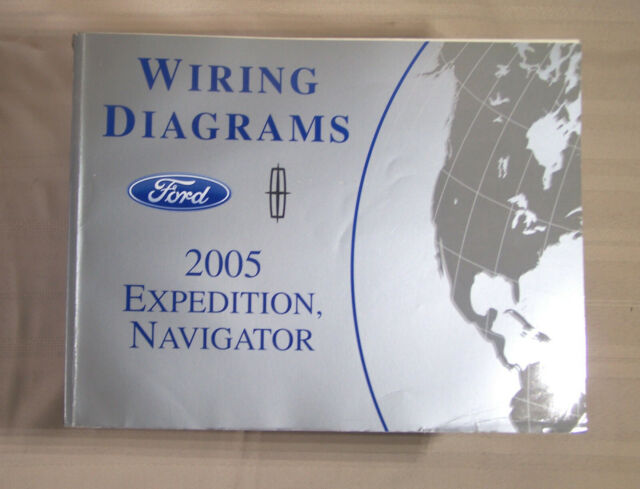 2005 Ford Expedition Lincoln Navigator Wiring Diagram Oem