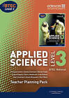BTEC Level 3 National Applied Science Teacher Planning Pack by Ellen Patrick, Shirley Foale, Roy Llewellyn, Tony Kelly, Ismail Musa, Sue Hocking, Joanna Sorensen, Frances Annets, Lee Hudson (CD-ROM, 2011)