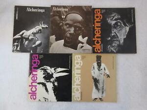 Lot-of-5-ALCHERINGA-ETHNOPOETICS-034-Magazine-of-the-World-039-s-Tribal-Poetics-034-1972-6
