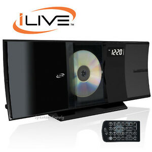 Ilive Home Music System With Bluetooth Black