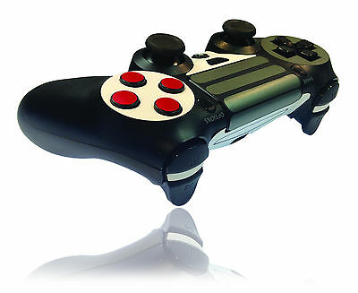 Controller Skin For PLAYSTATION 4 PS4 Wrap Carbon Wood Metal Decal Cover