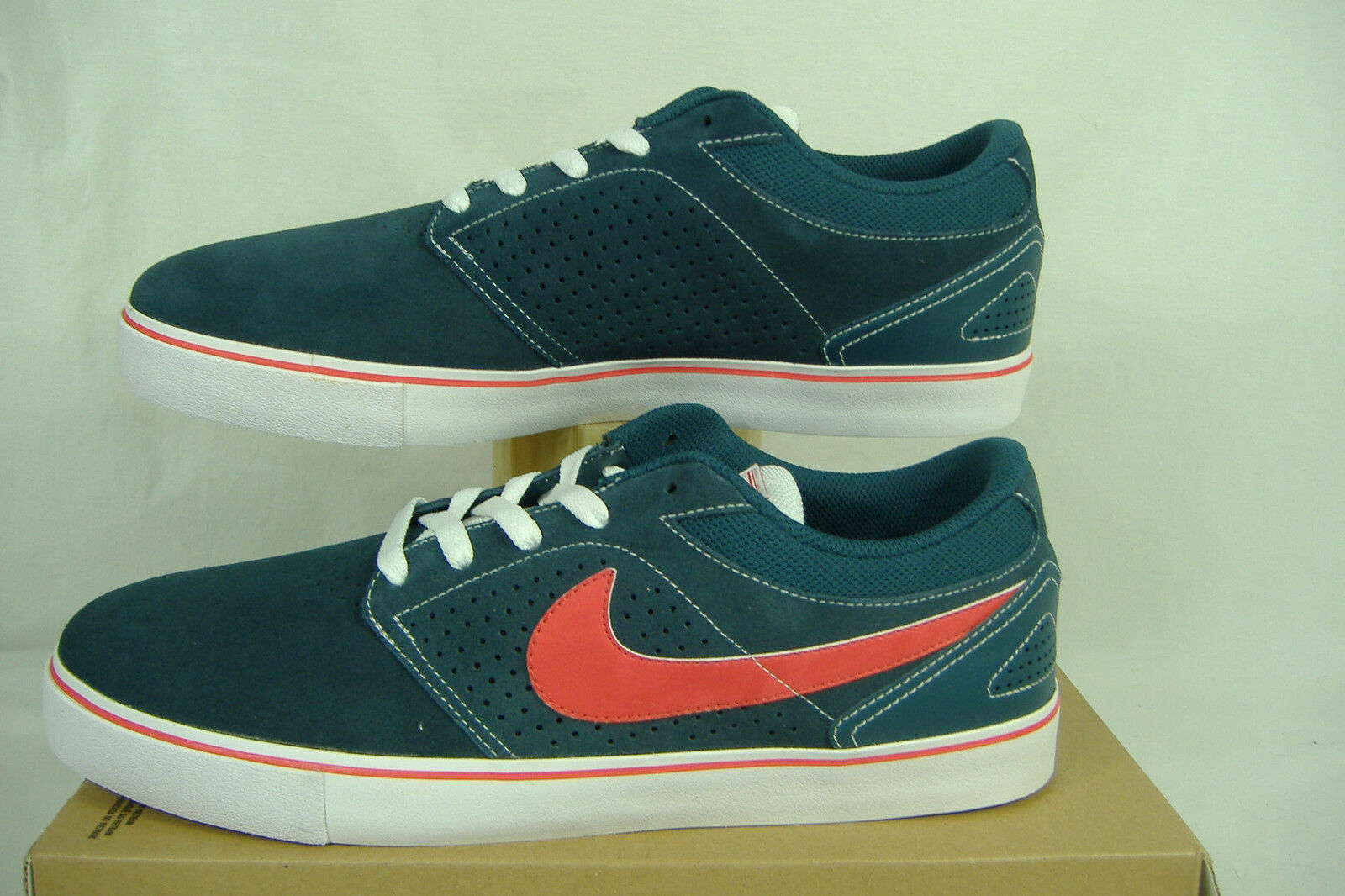 New Mens 13 NIKE Paul Rodriguez 5 LR Squadron bluee Suede shoes  510580-461