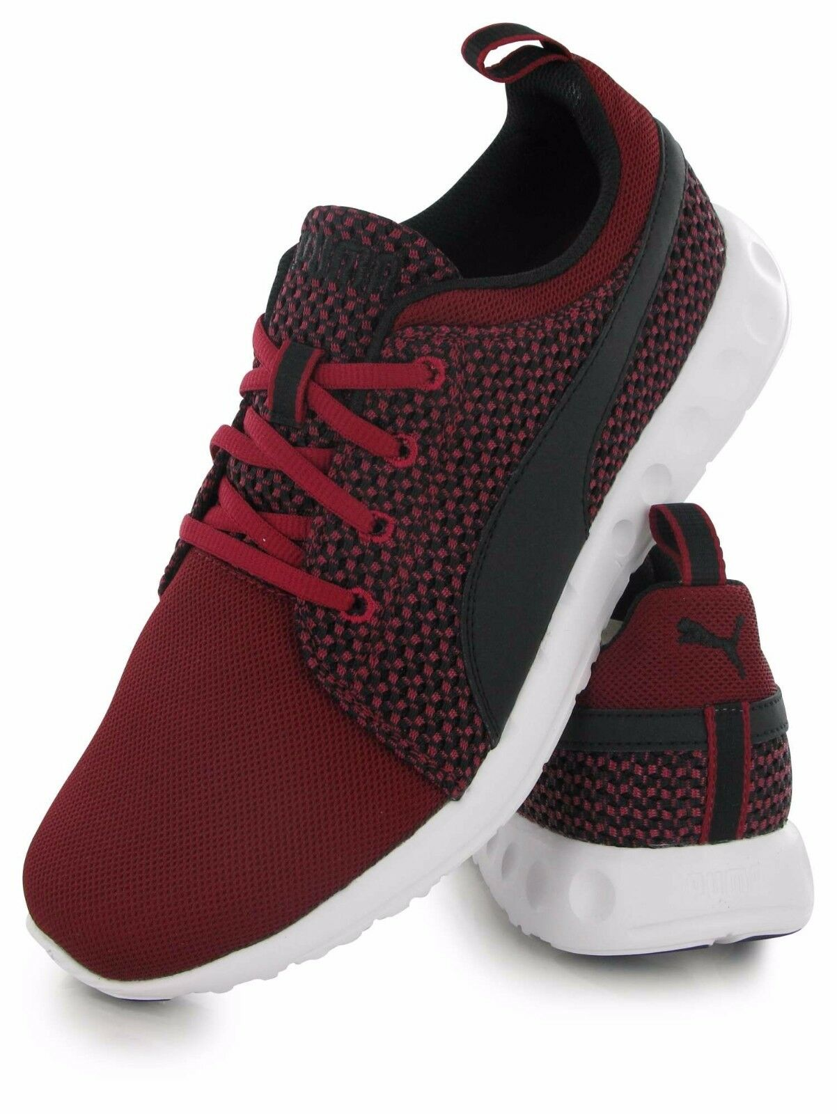 NIB PUMA Men's Carson Runner Knit Lace-Up Fashion Sneakers size 13US