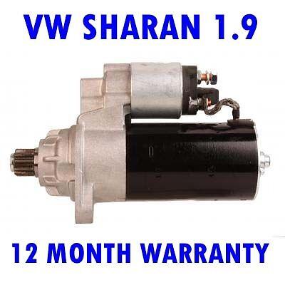 VW Sharan 1.9 2.0 2.8 1995 1996 1997 1998 1999-2010 starter motor MPV